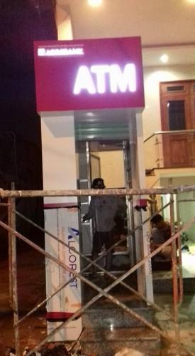 Thi Công Booth Trụ ATM Ngân Hàng